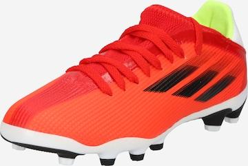 ADIDAS PERFORMANCE Sports shoe 'X Speedflow.3 MG J' in Red
