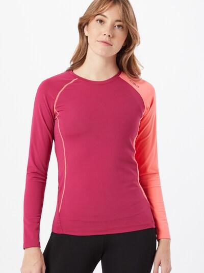 CMP Sport-Shirt in pitaya / altrosa: Frontalansicht