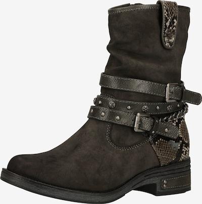 MUSTANG Bootsit värissä beige / tummanruskea / taupe / beigenharmaa, Tuotenäkymä
