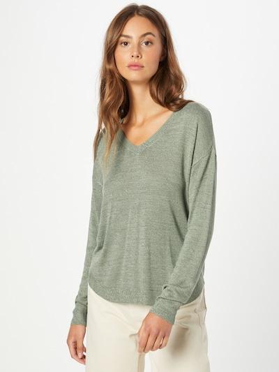 VERO MODA Pullover 'MEGHAN' in grünmeliert, Modelansicht