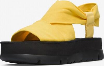 CAMPER Sandalen ' Oruga Up ' in gelb / schwarz, Produktansicht