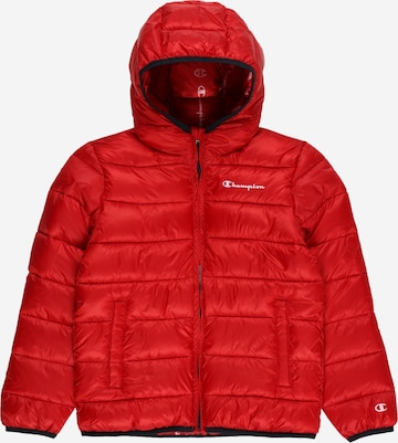 Champion Authentic Athletic Apparel Prechodná bunda - Červená