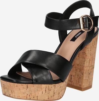 Sandale 'ATUMN' ONLY pe negru, Vizualizare produs