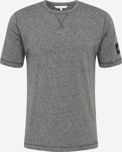 Calvin Klein Jeans Koszulka w kolorze nakrapiany szarym: Widok z przodu