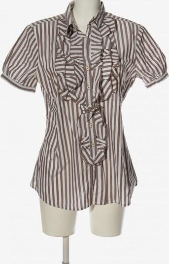 Rossana Diva Kurzarmhemd in XL in braun / weiß, Produktansicht