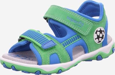 SUPERFIT Chaussures ouvertes 'Mike 3.0' en bleu ciel / pomme / noir / blanc, Vue avec produit