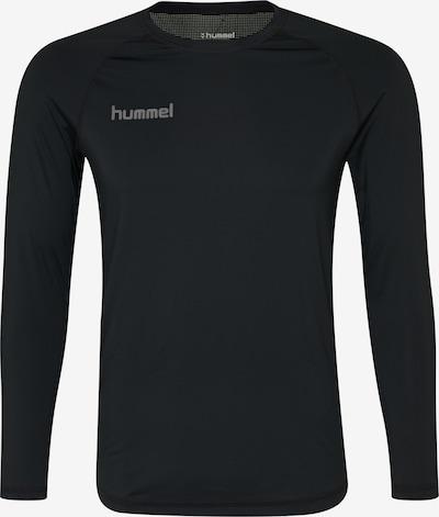 Hummel T-Shirt fonctionnel 'FIRST PERFORMANCE' en gris / noir, Vue avec produit