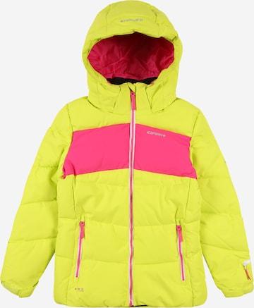Geacă outdoor de la ICEPEAK pe galben