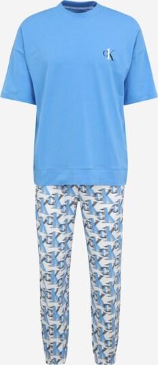 Calvin Klein Underwear Pyžamo dlouhé - modrá / černá / bílá, Produkt