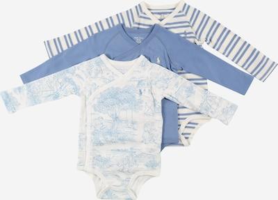 Polo Ralph Lauren Barboteuse / body en bleu / mélange de couleurs, Vue avec produit