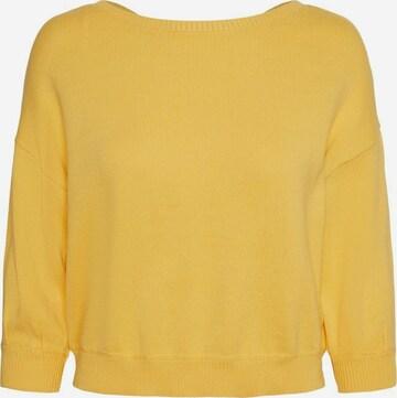 VERO MODA Sweater in Yellow