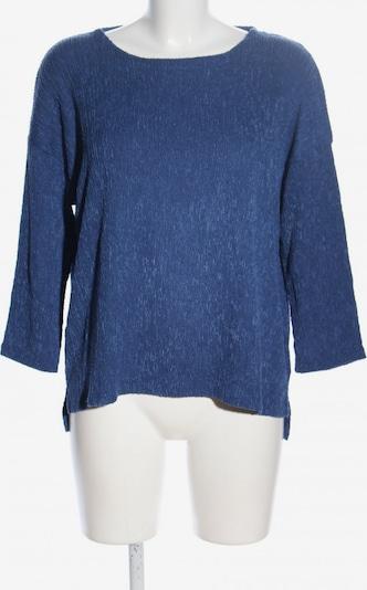 Betty & Co Rundhalspullover in XL in blau, Produktansicht