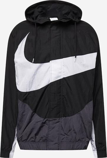 Nike Sportswear Přechodná bunda - antracitová / černá / bílá, Produkt