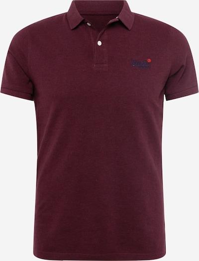 Superdry T-Shirt en bleu / violet / rouge, Vue avec produit