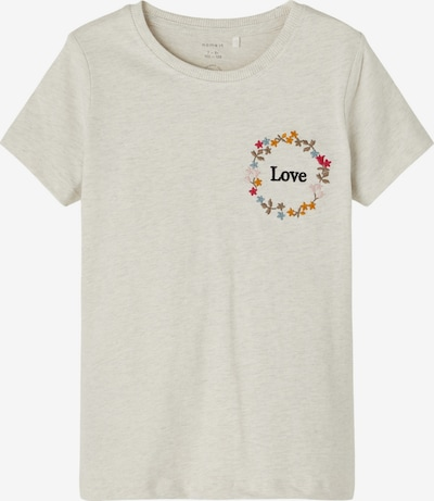 NAME IT T-Shirt 'LEBON' en beige / bleu fumé / safran / rose / pitaya, Vue avec produit
