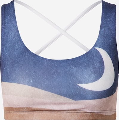 Onzie Sports Bra in Light blue / Brown / Cappuccino / White, Item view