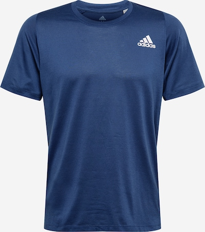 ADIDAS PERFORMANCE Trainingsshirt in navy / weiß, Produktansicht