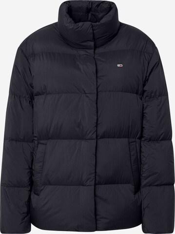 Tommy Jeans Kurtka zimowa w kolorze czarny