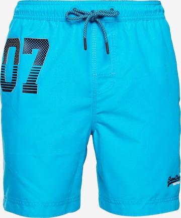 Shorts de bain Superdry en bleu