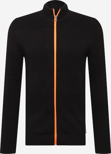 Kronstadt Vestes en maille 'Jacob' en orange foncé / noir, Vue avec produit
