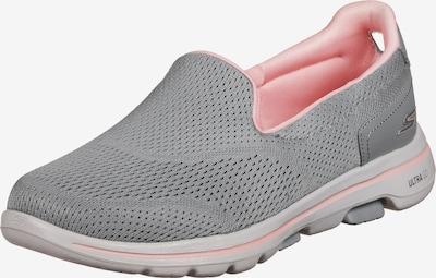 SKECHERS Sportschuh 'GOwalk 5' in hellgrau / pink, Produktansicht