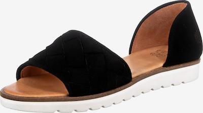 Sandale Apple of Eden pe negru, Vizualizare produs