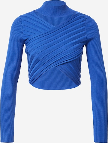 Parallel Lines Tričko - Modrá