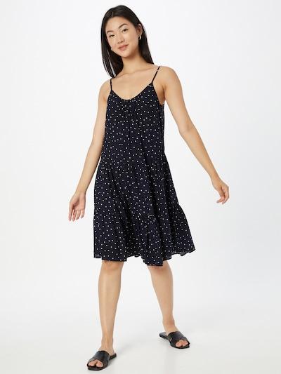 Hailys Kleid 'Lua' in nachtblau / weiß, Modelansicht