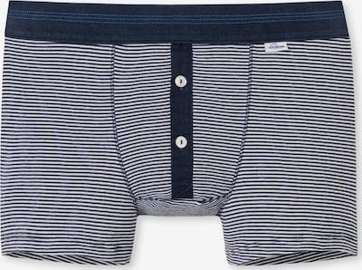SCHIESSER REVIVAL Boxershorts in dunkelblau / weiß, Produktansicht