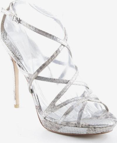 Badgley Mischka High Heel Sandaletten in 42 in grau / silber / weiß, Produktansicht