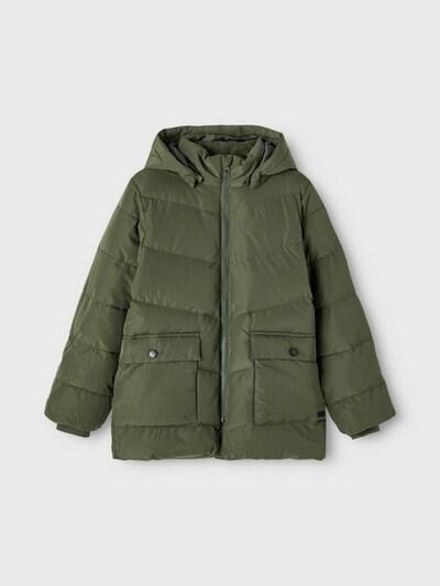 NAME IT Winterjas in de kleur Groen, Productweergave