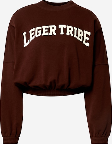 LeGer by Lena Gercke Sweatshirt 'Milla' in Brown