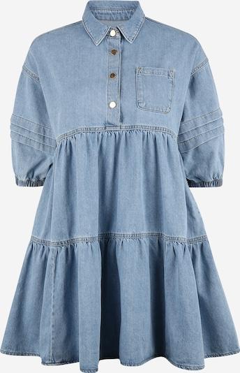 Rochie tip bluză River Island Maternity pe albastru denim, Vizualizare produs