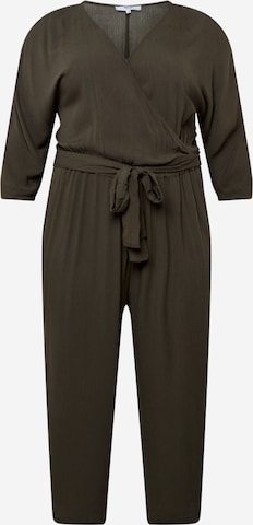 ABOUT YOU Curvy Jumpsuit 'Jasmin' in Green