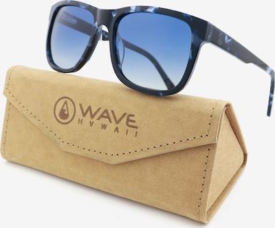 Wave Hawaii Lunettes de soleil ' WH1123 ' en bleu chiné: Vue de face