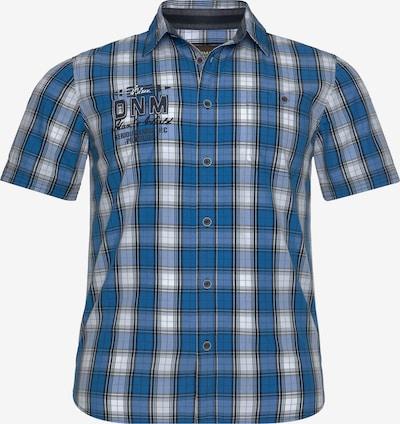 Man's World Man's World Kurzarmhemd in blau, Produktansicht
