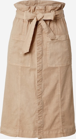 MOTHER Skirt in Brown