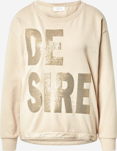 Cartoon Sweatshirt in beige, Produktansicht