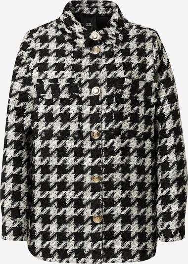 River Island Jacke in schwarz / weiß, Produktansicht