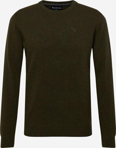 Barbour Pullover in dunkelgrün, Produktansicht