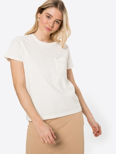 Lee Shirt in offwhite: Frontalansicht
