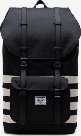 Herschel Backpack 'Little America' in Beige / Black, Item view