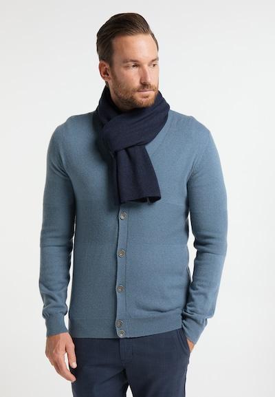 DreiMaster Klassik Sjaal in de kleur Marine: Vooraanzicht