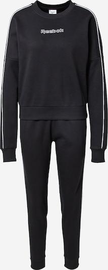Treniruočių kostiumas iš Reebok Sport, spalva – juoda / balta, Prekių apžvalga