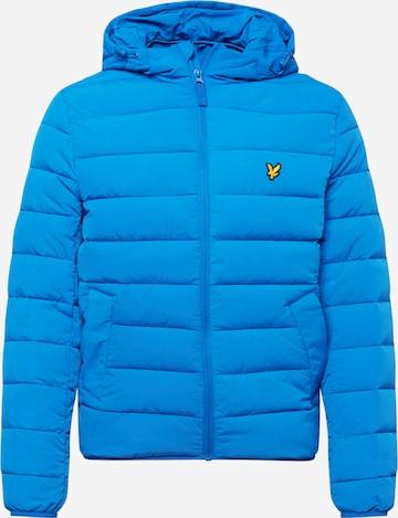 Lyle & Scott Overgangsjakke i blå