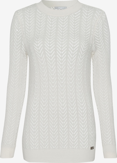 Tom Tailor Polo Team Pullover in offwhite, Produktansicht