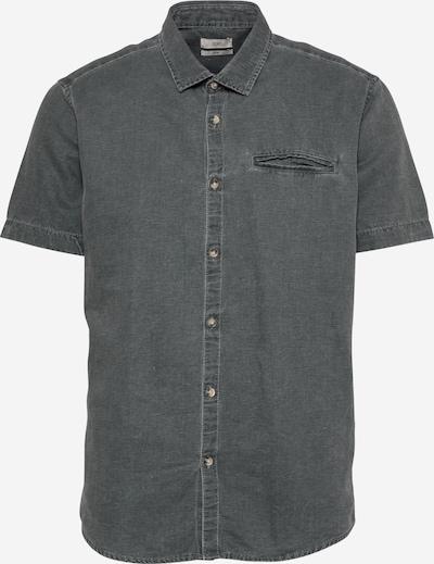 EDC BY ESPRIT Hemd in dunkelgrau, Produktansicht