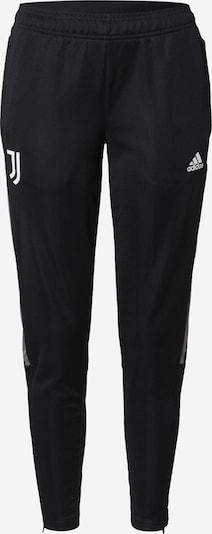 ADIDAS PERFORMANCE Pantalon de sport 'JUVE' en noir / blanc, Vue avec produit