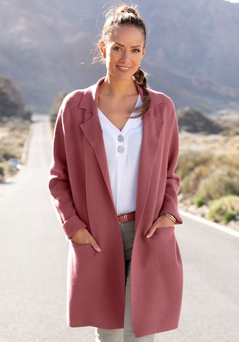 LASCANA Winter Coat in Red