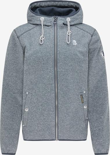 Schmuddelwedda Functionele jas in de kleur Blauw gemêleerd / Wit, Productweergave